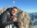 Burggeist auf der Zugspitze